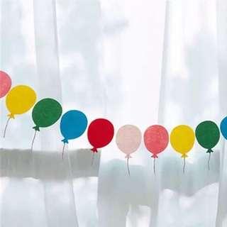1Set DIY Party Garland (Balloon)