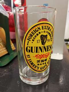 Guiness Glass Mug Old Skool Collectible Vintage