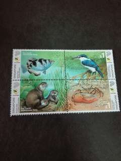 Singapore Stamps Animal Series