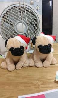 聖誕可愛小狗100@2隻