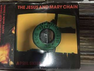 """The jesus and mary chain - april skies 7"""""""