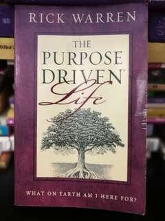 Rick Warren Purpose Driven Life Original Book