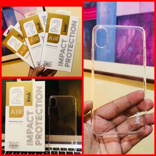 Brandnew Imak Crystal Clear Hard case for Iphone X