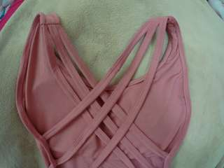 MAUVE PINK ONE PIECE SWIMSUIT