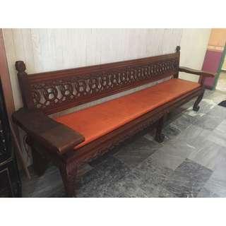 Antique Solid Narra Bench