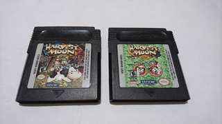 Gameboy Color Harvest Moon 2 and 3