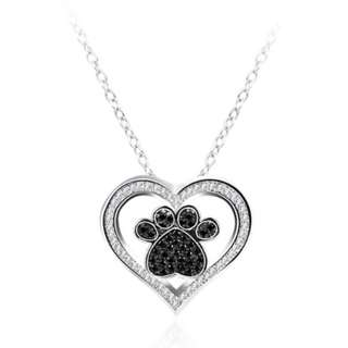 Paw in Love Necklace