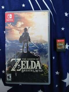 Zelda Breath of The Wild with 18pcs amiibo cards