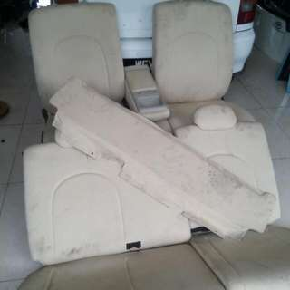 Seat Myvi Passo Sambung Cream