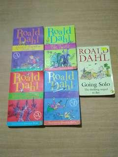 5 x Roald Dahl Books
