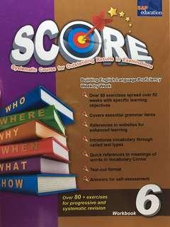 p6 score english assessment book