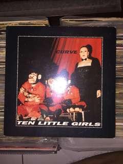 "Curve - ten little girls 7"" (shoegaze)"