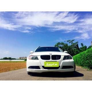 BMW 325I 白 帥氣旅行車