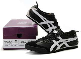 Authentic Onitsuka Tiger (Deluxe) Black/ White