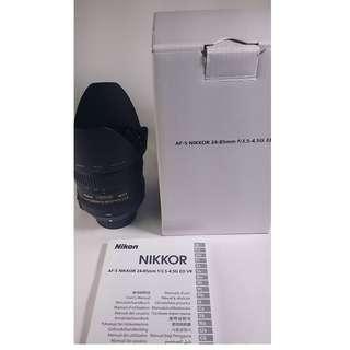 Nikon AF-S 24-85mm f/3.5-4.5G ED VR (NL014)