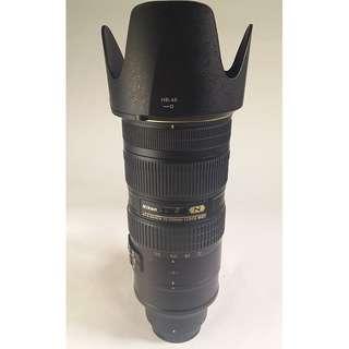 Nikon AF-S NIKKOR 70-200mm F2.8 G VR II (NL016)