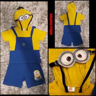 Despicable Me (MINIONS) Original Kids Hoodie Set for kids age 11 years old.