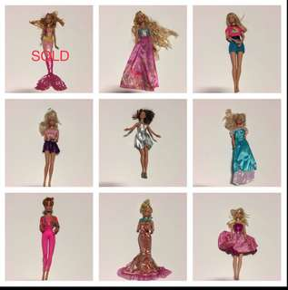 Preloved Authentic Barbie Dolls