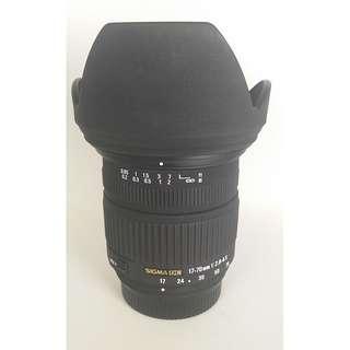 Sigma 17-70mm F2.8-4.5 DC MACRO for Nikon 公 (NL020)