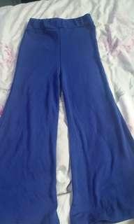 BN Blue Bell Bottom Girl Pants