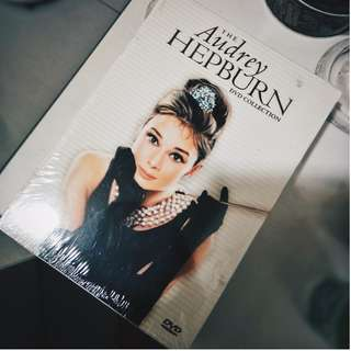 Audrey Hepburn Movies Original DVD Collection