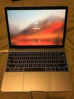 2016 Retina MacBook 12' 512gb Gold Color