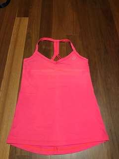 LORNA Jane pink singlet XS 8