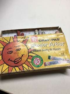 cray pas junior artist oil pastels