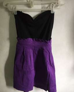 Purple Tube Dress ( P R E L O V E D )