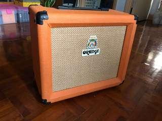 Orange guitar amp Crush 15R