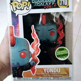 Brand New Funko POP Yondu Guardians Of The Galaxy Vol 2 SCE Exclusive 2018