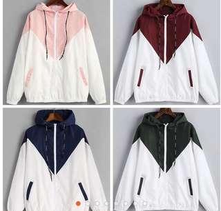 windbreaker hoodie jacket PREORDER