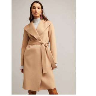 New!Winter 2018 Witchery Wool blend Wrap Coat RRP$399.95, Free Postage!