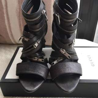 Stefano Eastmani  wedge sandals shoes  **Made in Italy  **Size 36 _