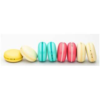 Macaron Style USB Rechargeable Mini Hand Warmer & Mobile Power - 暖手Macaron - 移動充電器 - Ref A0667
