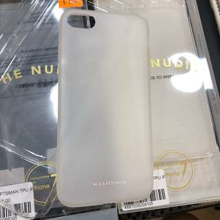 iPHONE 7 M. Craftsman  the nude case