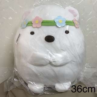 日本景品 角落生物 可愛 貓貓 大毛公仔