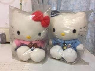 Hello Kitty 公仔(麥當勞員工)一對