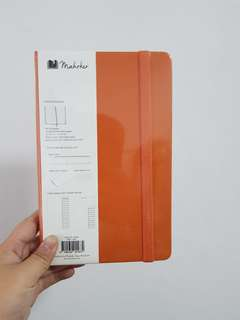 Mahrker Orange Notebook