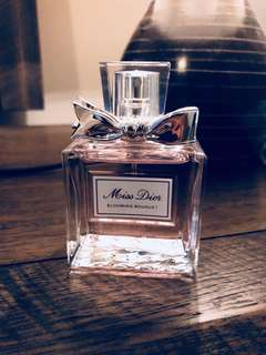 Authentic Miss Dior EDT 50 ml -nearly full