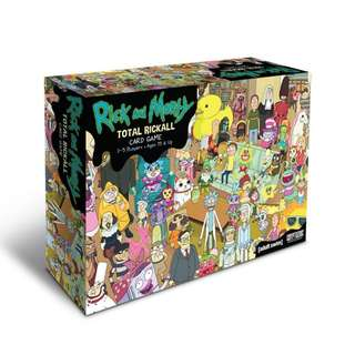 Shop : RICK and MORTY TOTAL RICKALL CARD GAME