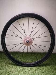 Vision Team 30 Rear Wheel with Ultegra 6800 cassette (11-32) & Conti Tyre