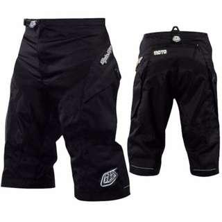 Cycling Motorbike Mountainbike Shorts Black