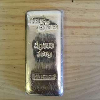Silver Bar 250grams