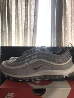 Nike air max 97 SILVER BULLET off white the ten vapor Yeezy Adidas supreme