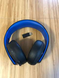 Playstation 4 wireless Gold headset