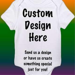 Customise Baby Romper/Onesie/clothe
