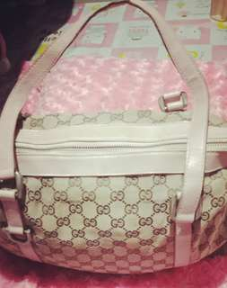 Gucci tote bag w/zipper
