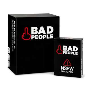 Shop : BAD PEOPLE THE COMPLETE SET CARD GAME