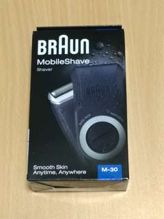 Braun shaver M-30